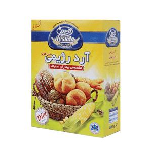 آرد رژیمی بدون گلوتن آی سودا وزن ۵۰۰ گرم