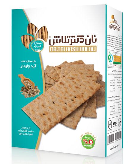 نان سوخاری حاوی آرد چاودار دکتر تلاش – ۴۰۰ گرمی