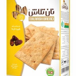نان سوخاری حاوی شیره خرما دکترتلاش – ۴۰۰ گرمی