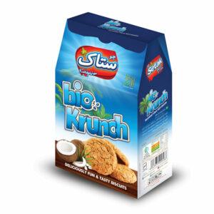 بیسکویت بایو کرانچ نارگیلی ستاک – ۴۰۰ گرمی