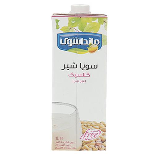 شیرسویا کلاسیک مانداسوی  حجم ۱ لیتر
