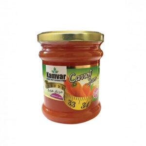 مربای هویج بدون شکر و رژیمی کامور
