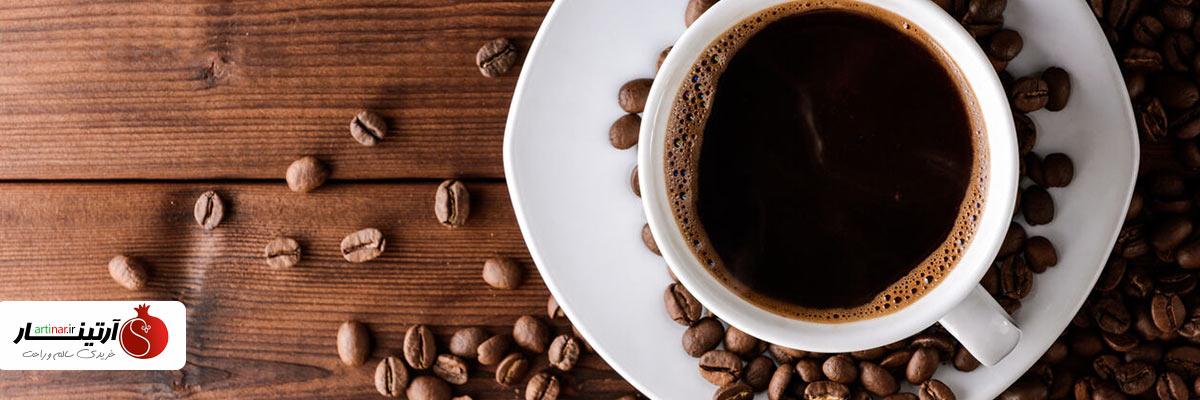 دانه قهوه فول کافئین