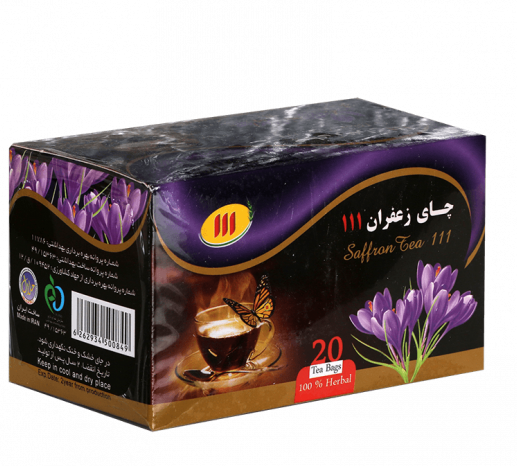 چای زعفران کیسه ای ۱۱۱ – ۲۰ عددی