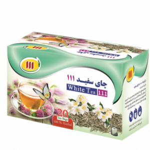 چای سفید ۱۱۱ – ۲۰ عددی