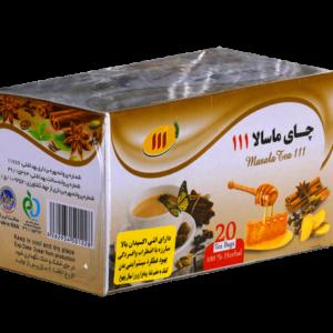 چای ماسالا ۱۱۱ – ۲۰ عددی
