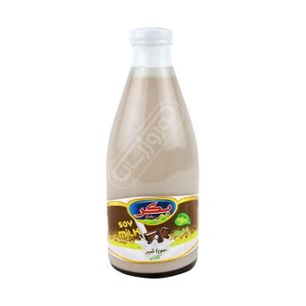 شیر سویا با طعم کاکائو بکر