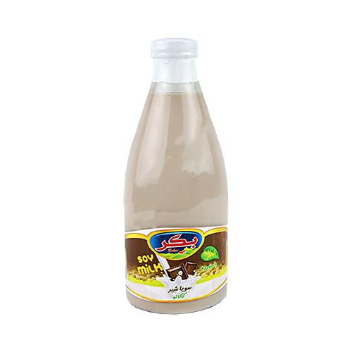 شیر سویا با طعم کاکائو بکر حجم 1 لیتر