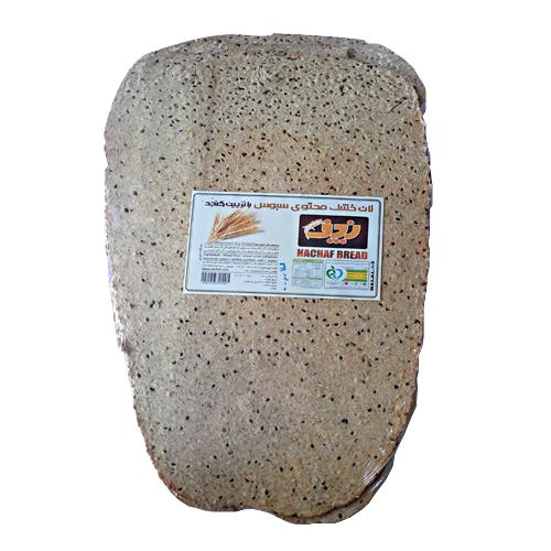 نان خشک گندم سبوس دارکنجدی