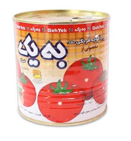 رب گوجه فرنگی به یک -۸۰۰ گرمی