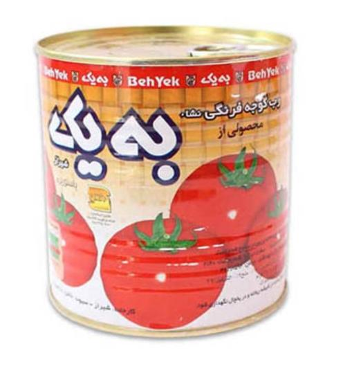 رب گوجه فرنگی به یک -۴۰۰ گرمی