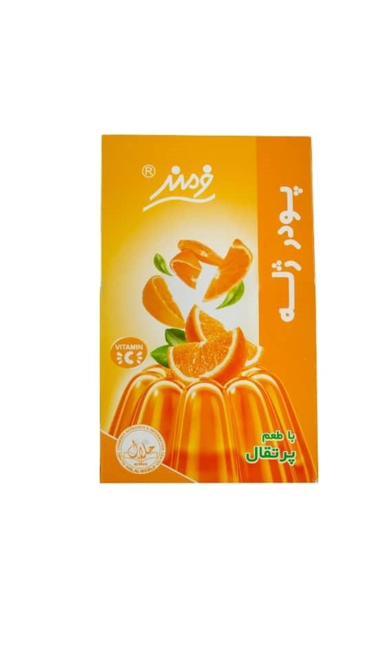 پودر ژله پرتقالی فرمند وزن ۱۰۰گرم