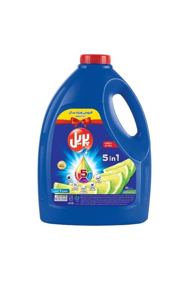 مایع ظرفشویى پریل حجم ۴ لیتر