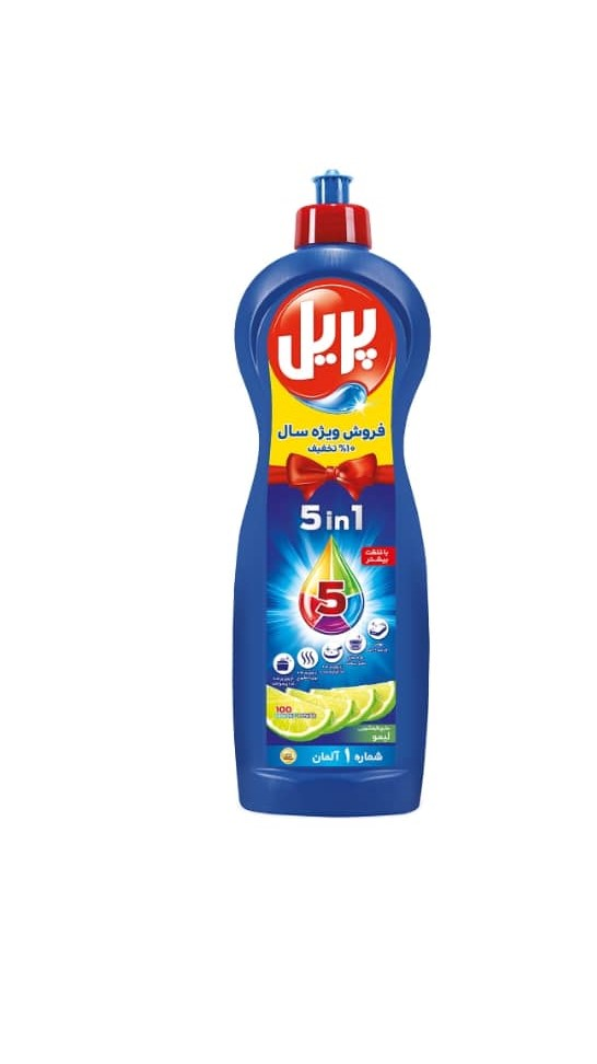 مایع ظرفشویى پریل  حجم ۱ لیتر
