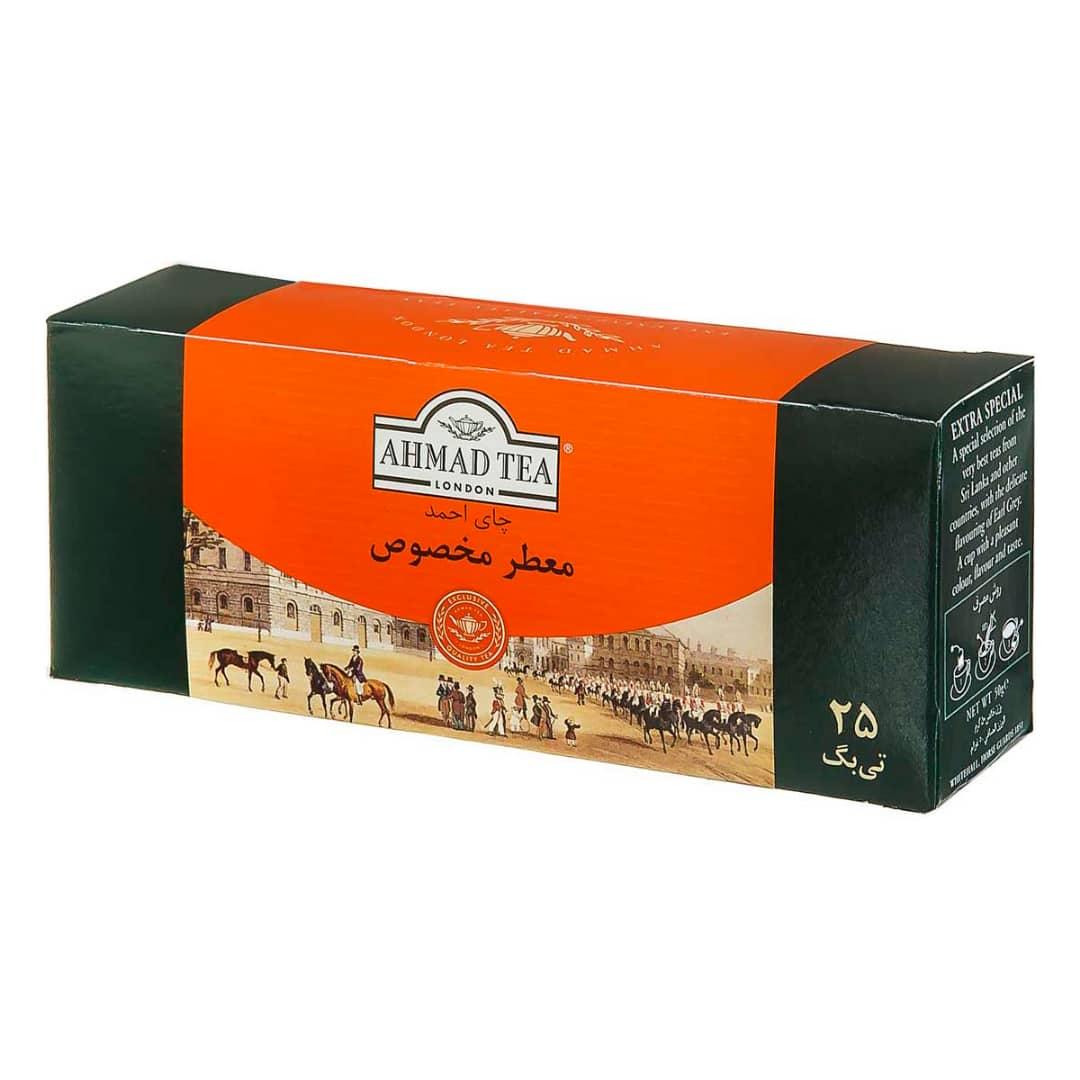 چای کیسه ای احمد معطر _ ۲۵ عددی