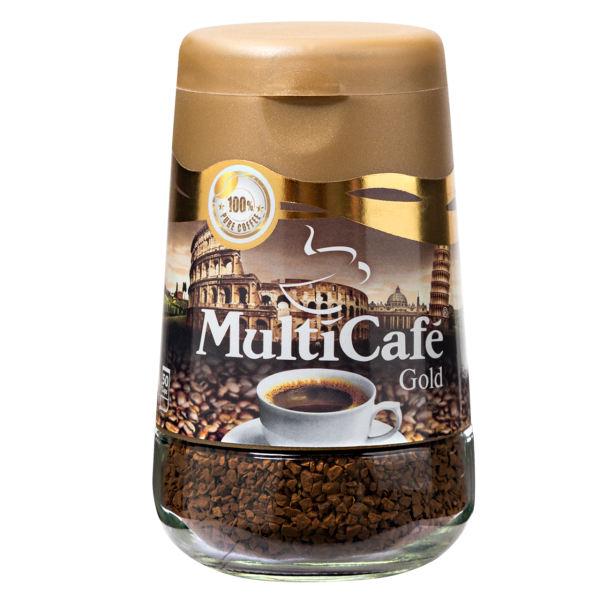 قهوه فوری گلد مولتی کافه