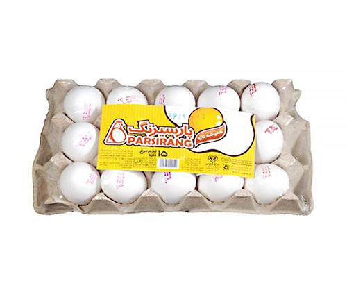 تخم مرغ پارسیرنگ ۱۵ عددی وزن ۹۰۰ گرم