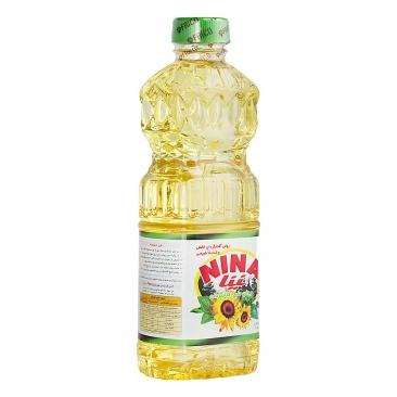 روغن مایع آفتابگردان نینا _۸۱۰ گرم
