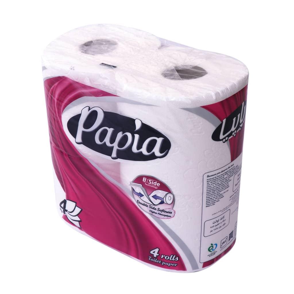 دستمال ۴ قلو توالت پاپیا ورن ۵۲۰ گرم
