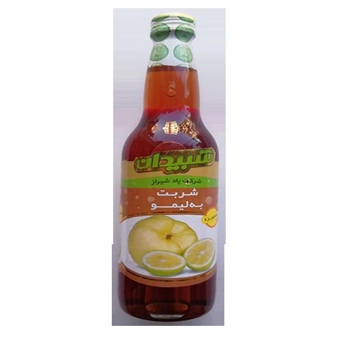 شربت به لیمو شبیدان وزن ۵۵۰ گرم