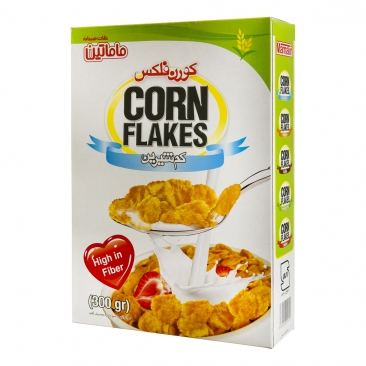 کورن فلکس کم شیرین ماماتین – ۳۰۰گرم