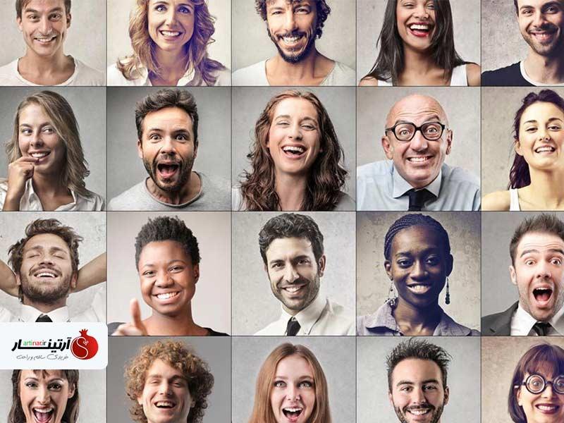 شخصیت شناسی از روی چهره افراد مختلف