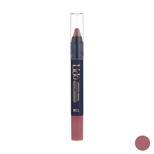رژ لب مدادی لیدو شماره ۱۲۶