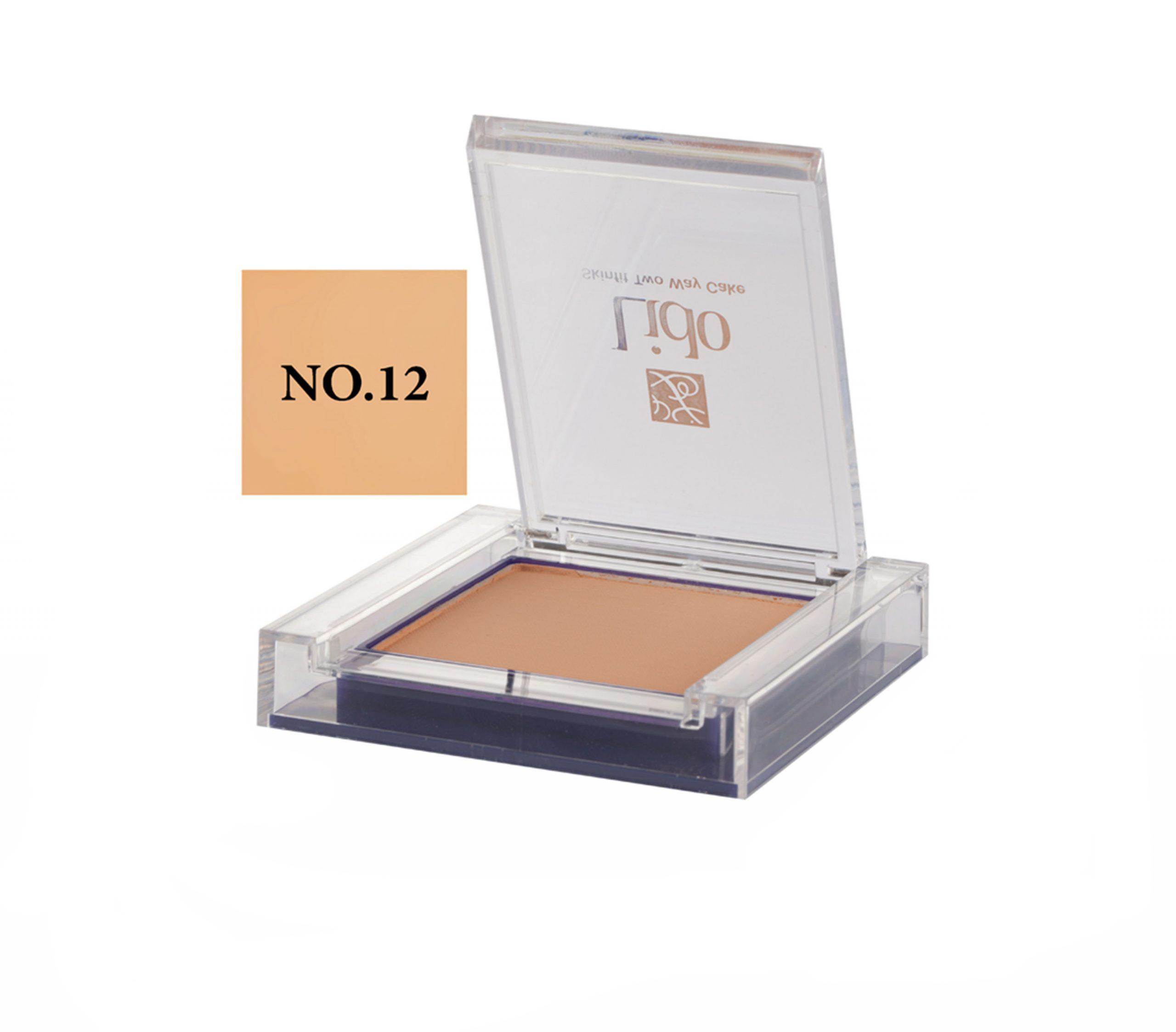 پنکیک دوکاره لیدو مدل SkinFit شماره ۱۲
