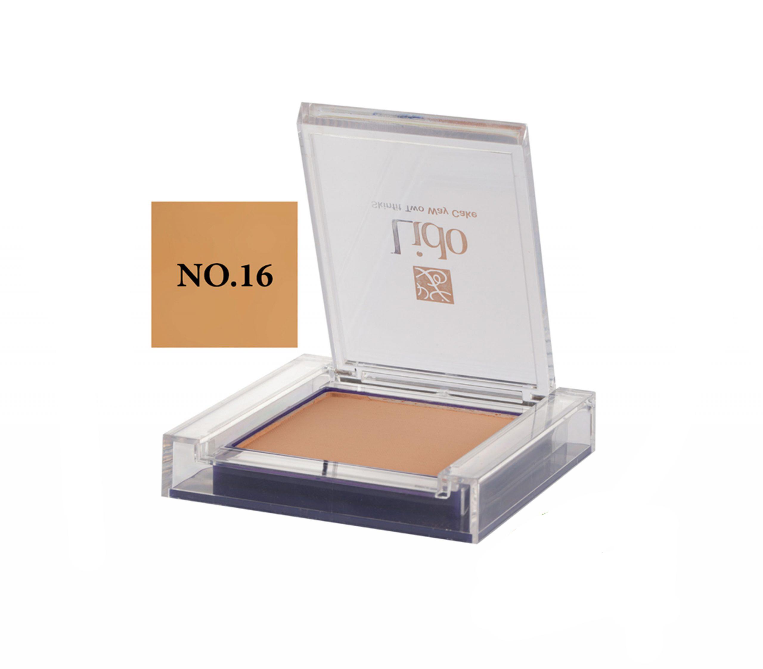 پنکیک دوکاره لیدو مدل SkinFit شماره ۱۶