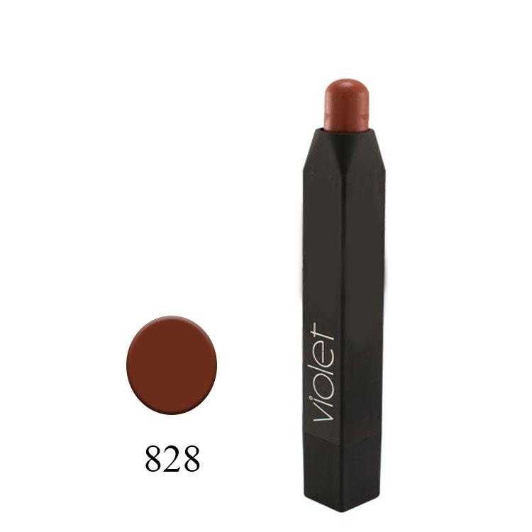 رژلب مدادی ویولت مدل VELVET MATTE شماره ۸۲۸