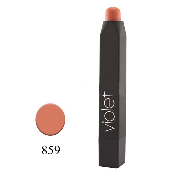 رژلب مدادی ویولت مدل VELVET MATTE شماره ۸۵۹