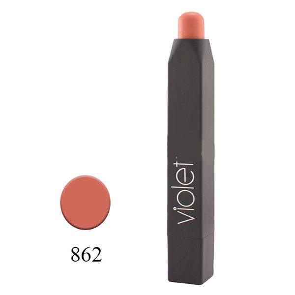 رژلب مدادی ویولت مدل VELVET MATTE شماره ۸۶۲