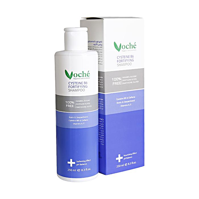 شامپو تقویت کننده مو حاوی سیستئین و ویتامین B6 وچه