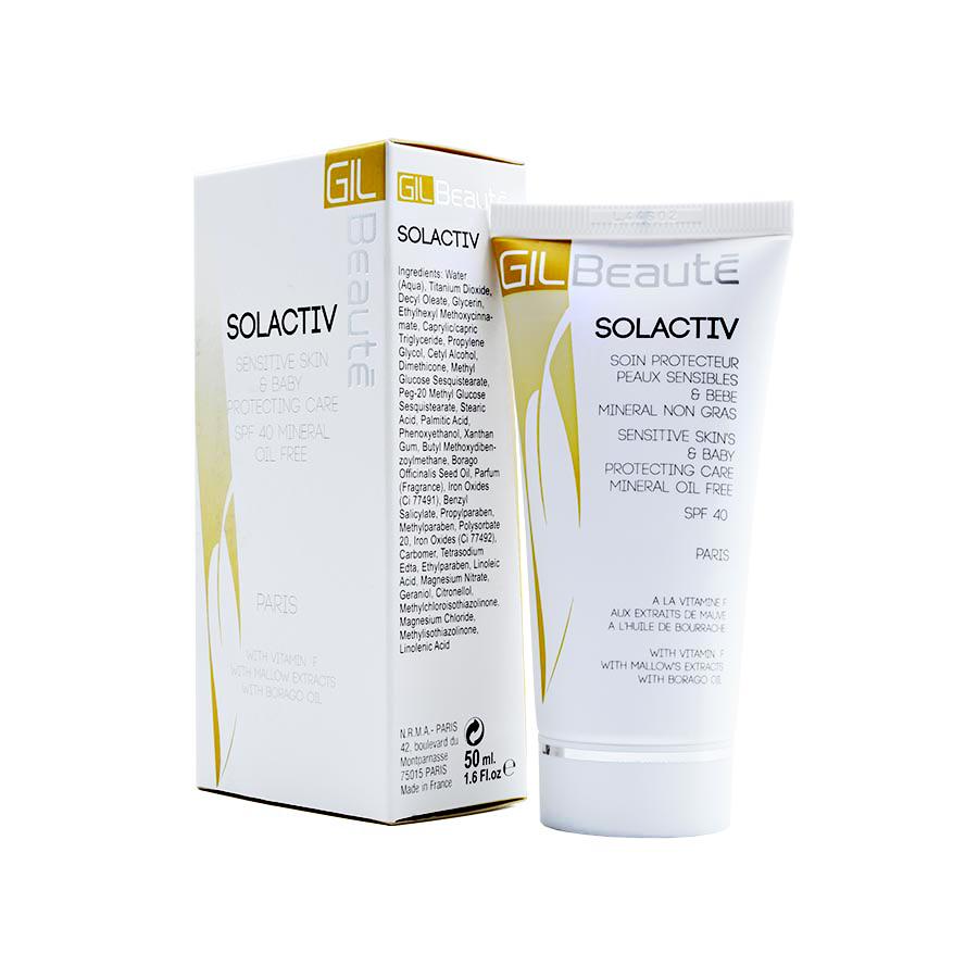 کرم ضد آفتاب SOLACTIV SPF 40 ژیل بوته