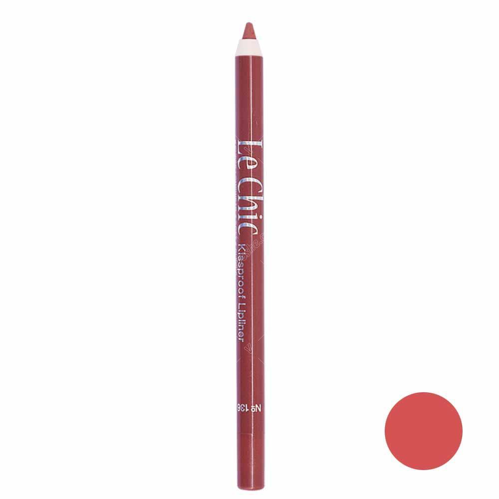 مداد لب شمعی لچیک شماره ۱۳۶