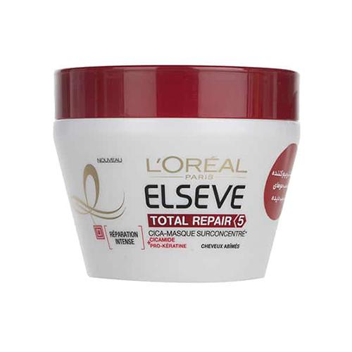 ماسک مو ترمیم کننده ۵ Total Repair السیو لورآل حجم ۳۰۰ میلی لیتر