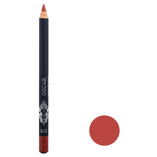 مداد لب اسکار مدل Waterproof Lipliner شماره ۵۲۱