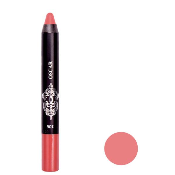 رژ لب مدادی اسکار مدل CHUBBY شماره ۱۰۶