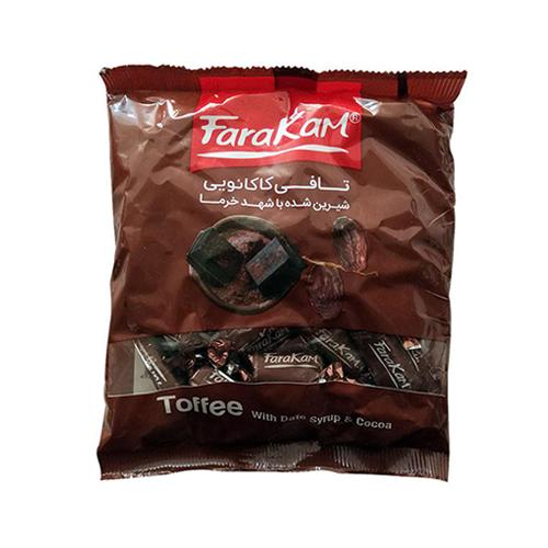 تافی کاکائویی با شهد خرما فراکام  وزن ۲۰۰ گرم