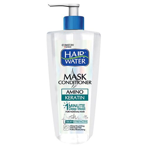 ماسک مو کراتین کامان مناسب موهای معمولی و رنگ شده حجم ۴۰۰ میلی لیتر