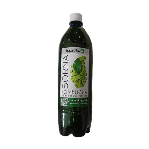 نوشیدنی لاغری کامبوچا قهوه سبز برنا کامبوچا ۱ لیتری