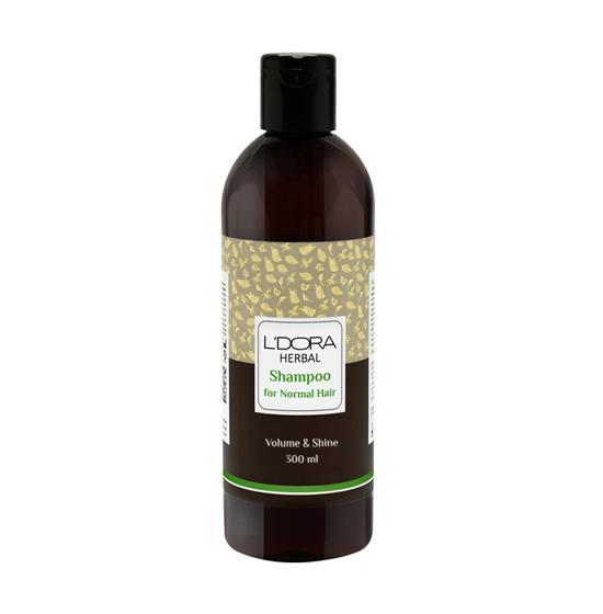 شامپوگیاهی مناسب موهای معمولی لدورا هربال ۳۰۰ میلیلیتر