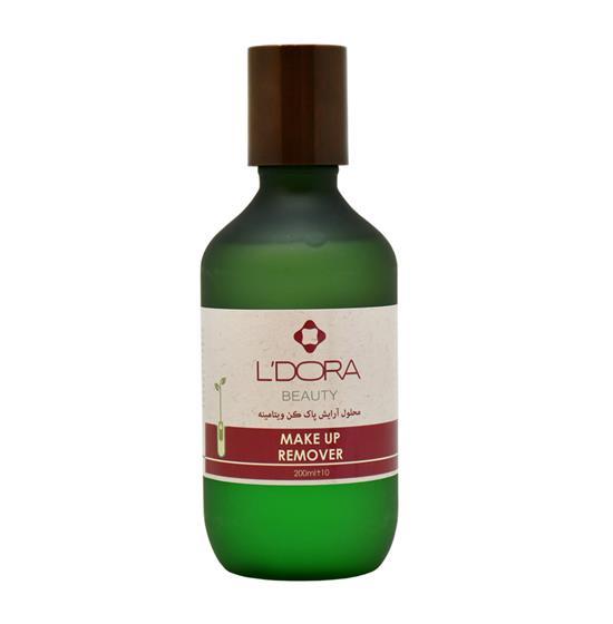 محلول آرایش پاککن دوفاز ویتامینه لدورا ۲۰۰ میلی لیتر