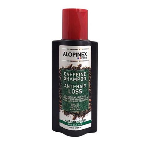 شامپو تقویتی موهای چرب آلوپینکس حجم ۲۵۰ میلی لیتر