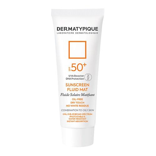 ضد آفتاب بی رنگ فاقد چربی SPF 50 درماتیپیک حجم ۵۰ میلی لیتر