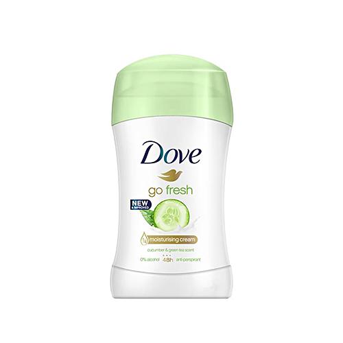 مام ضد تعریق صابونی زنانه خیار و چای سبز مدل DOVE go fresh داو حجم ۴۰ میلی لیتر