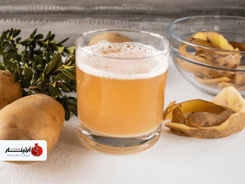 رازهای سلامتی با آب سیب زمینی!