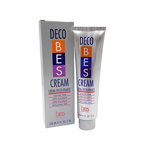 کرم دکلره بی رنگ کننده دکو Deco بس BES وزن ۲۲۰ گرم