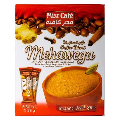میکس قهوه فوری مصر کافه MisrCafe بسته ۸ عددی ۲۵ گرمی