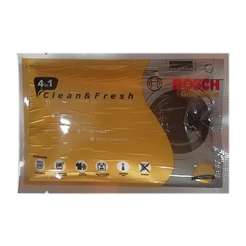 پودر جرم گیر ماشین لباسشویی و ظرفشویی مدل GOLD بوش Bosch وزن ۴۰ گرم